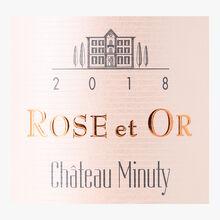 Château Minuty, Rose et Or, rosé 2018, AOC Côtes de Provence Château Minuty