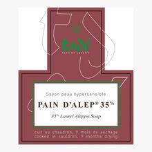 Aleppo Soap 35 %, Hypersensitive skin Tadé Pays du Levant