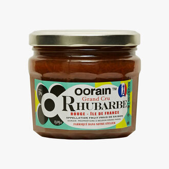 Confiture de rhubarbe Oorain La Marmelade Française