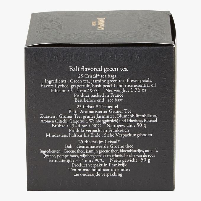 Bali perfumed green tea - Box of 25 teabags Dammann Frères