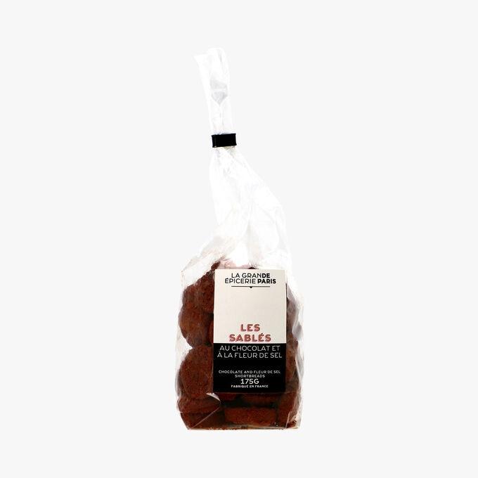 Les sablés au chocolat à la fleur de sel La Grande Épicerie de Paris