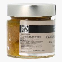 Caviar d'aubergine à la truffe d'été Tuber Aestivum 2,2% La Cave à Truffes