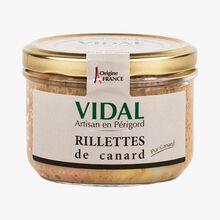 Rillettes de canard Vidal