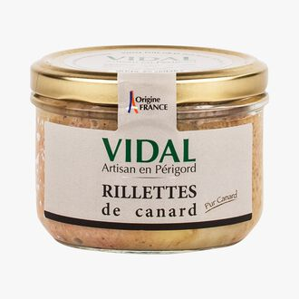 Duck rillettes Vidal