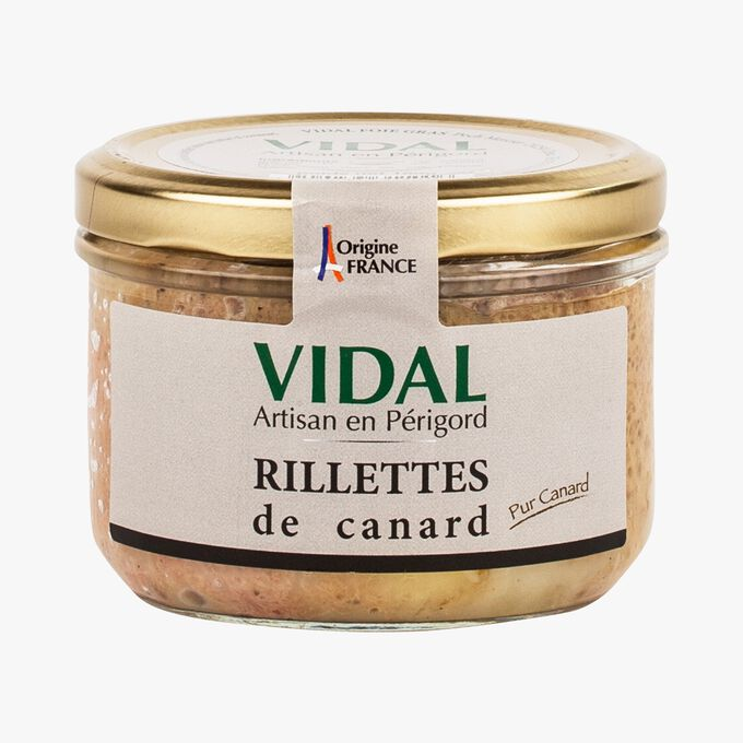 Duck rillettes Vidal