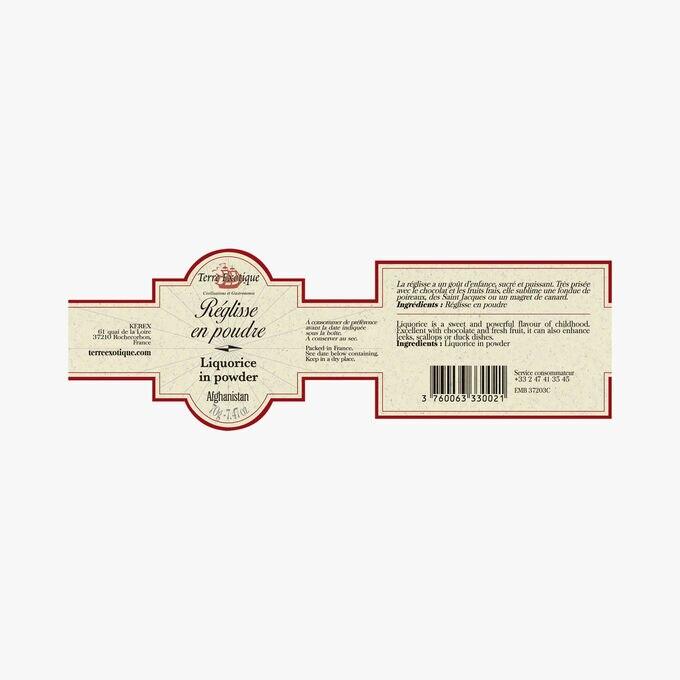 Liquorice powder Terre Exotique