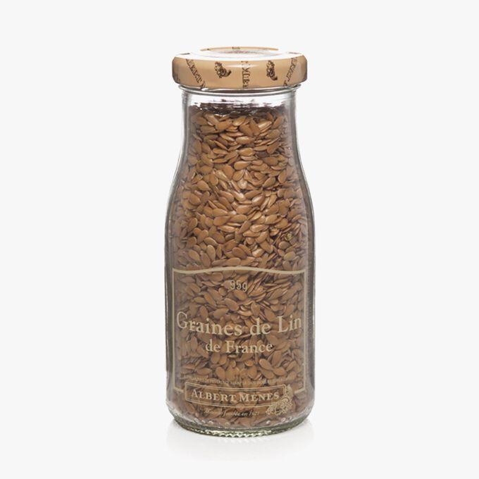 Graines de lin de France Albert Ménès