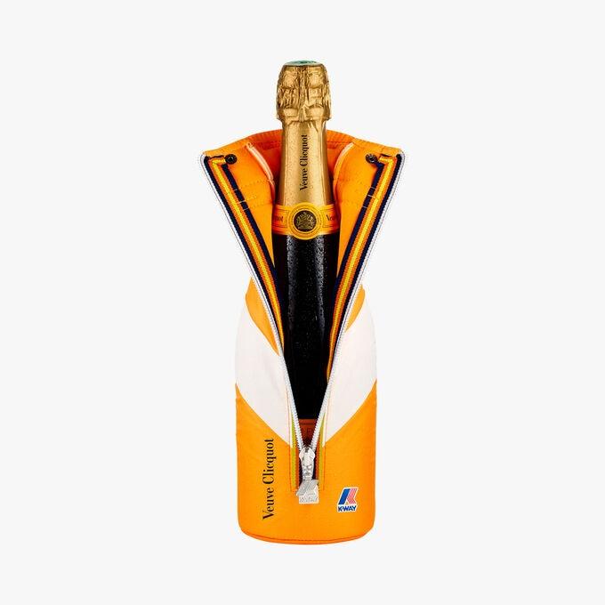Champagne Veuve Clicquot Brut Carte Jaune, édition limitée K-Way Veuve Clicquot