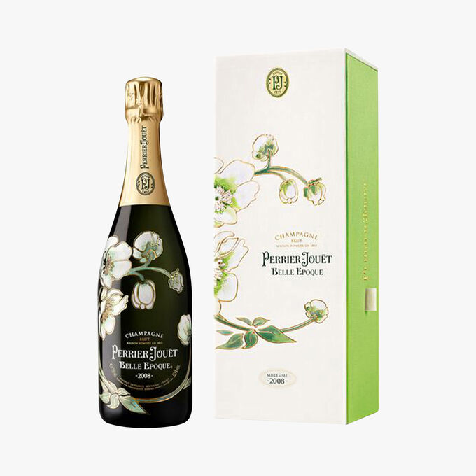 Champagne Perrier Jouët Belle Epoque, avec coffret, 2008 Perrier Jouët