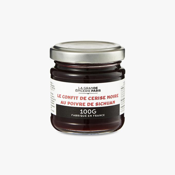 Black cherry confit with Sichuan pepper La Grande Épicerie de Paris