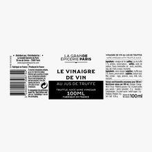Vinaigre de vin au jus de truffe La Grande Épicerie de Paris