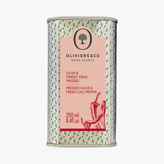 Olive & piment frais pressés Oliviers & Co