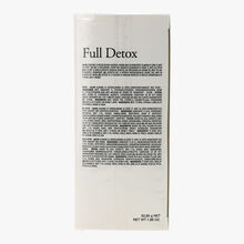 Full Detox 24 sachets mousseline enveloppés de mélanges de thé vert, maté et plantes aromatisés Kusmi Tea