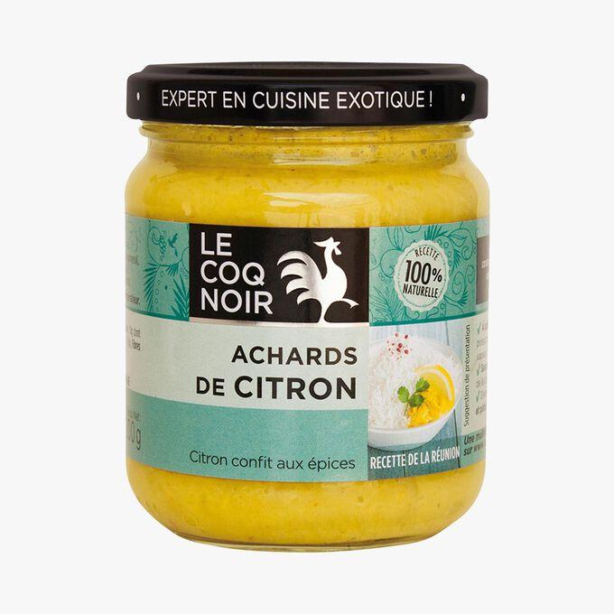 Achards de citron Le coq noir