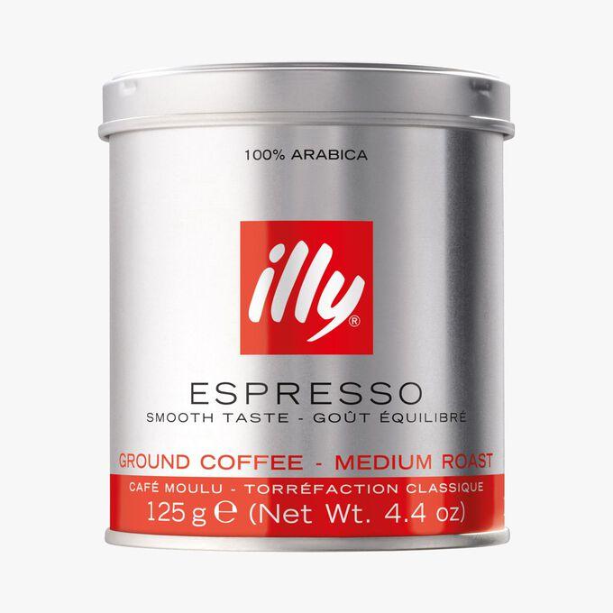 Ground coffee – classic roast Illy