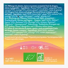 Lov in Mind Moringa, Gigembre, Curcuma, Fruit du dragon boîte de 20 sachets mousseline Lov Organic