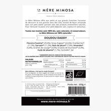 Granola Doudou Daddy cannelle et cranberries La Mère Mimosa