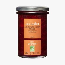Confiture extra fraise Alain Milliat