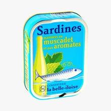 Sardines marinées au muscadet et aux aromates Conserverie la belle-iloise
