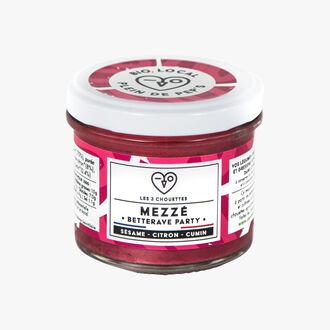 Organic Mezzé, Betterave Party Les 3 Chouettes