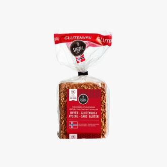 Norwegian crusty oat bread - gluten free Sigdal Bakeri