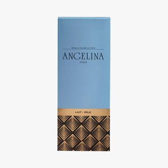 Tablette de chocolat au lait  37% de cacao Angelina