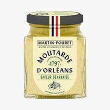 Moutarde d'Orléans saveur Béarnaise Martin Pouret