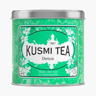Detox metal tin Kusmi Tea