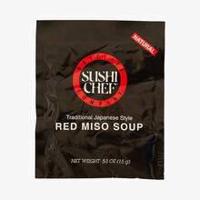 Potage rouge de Miso Sushi Chef