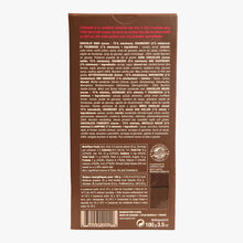 Dark chocolate bar 72 %, raspberry and cranberry Michel Cluizel