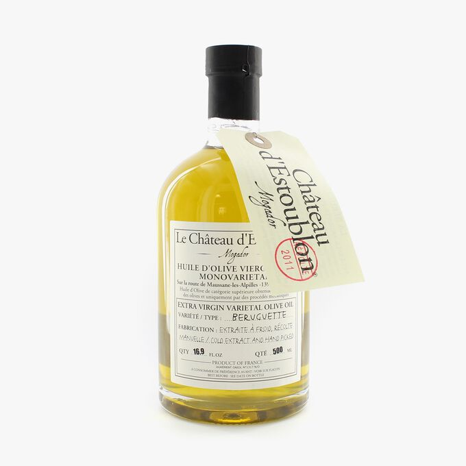 Beruguette extra virgin olive oil in an apothecary bottle Château d'Estoublon