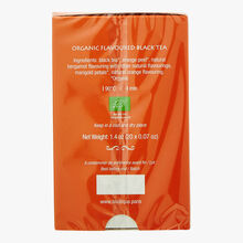 Pause gourmande rive droite - thé noir aromatisé bio parfum bergamote orange Comptoirs Richard