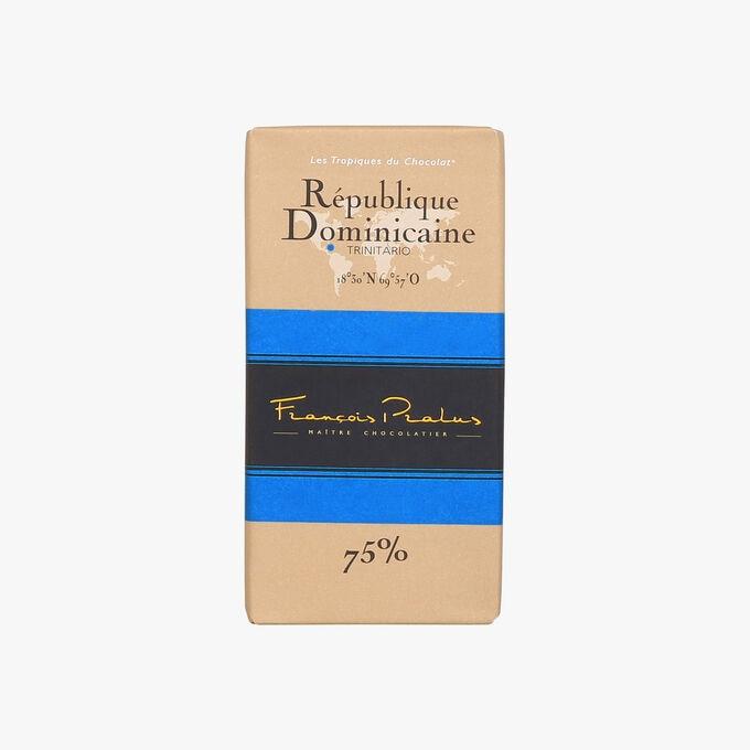 Tablette République Dominicaine 75% Pralus
