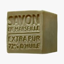 Cube of Marseille soap, Olive Compagnie de Provence