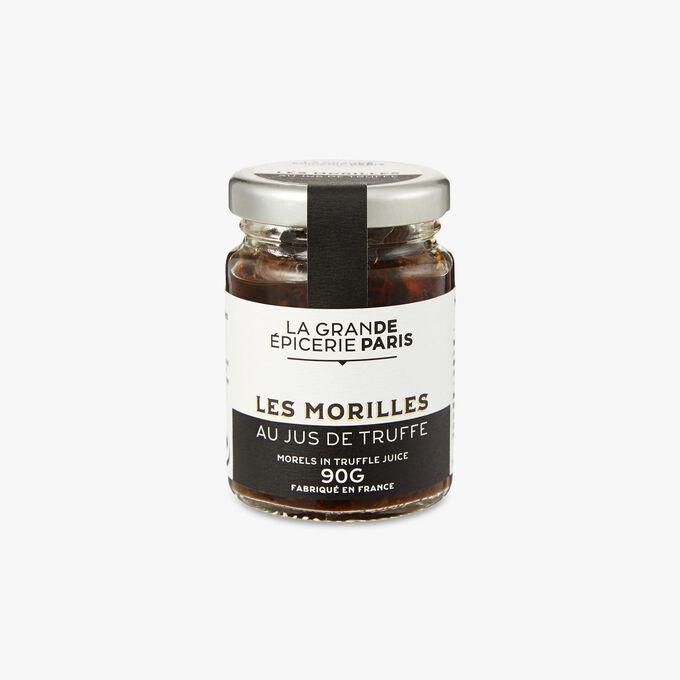 Morel mushrooms in truffle juice La Grande Épicerie de Paris