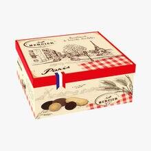 Boîte métal - Assortiment de biscuits Daniel Mercier