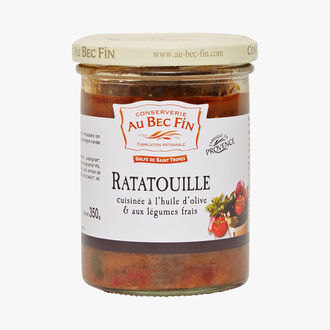 Ratatouille made with olive oil & and fresh vegetables Au Bec Fin