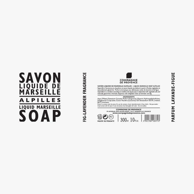 Savon liquide de Marseille Alpilles Compagnie de Provence