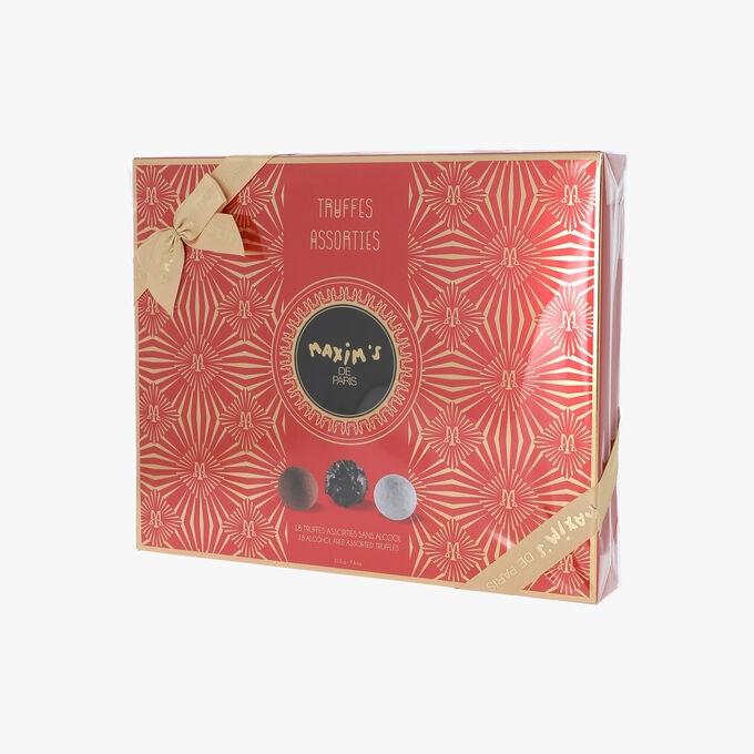 Etui de 18 truffes au chocolat Maxim's