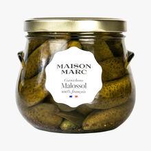 Malossol gherkins Maison Marc