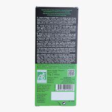 Andoa bar, organic fair trade dark chocolate (70 % minimum cocoa, pure cocoa butter) Valrhona