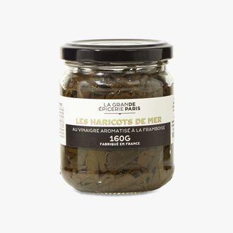 Haricots de mer au vinaigre aromatisé à la framboise La Grande Épicerie de Paris