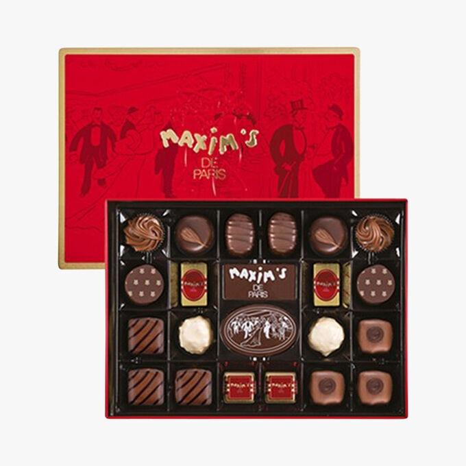 Exclusive assortment of 22 chocolates Maxim's
