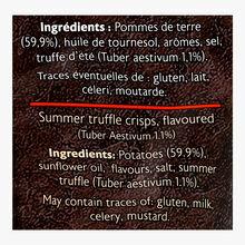 Chips à la truffe d'été - Tuber aestivum 1 % La Cave à Truffes