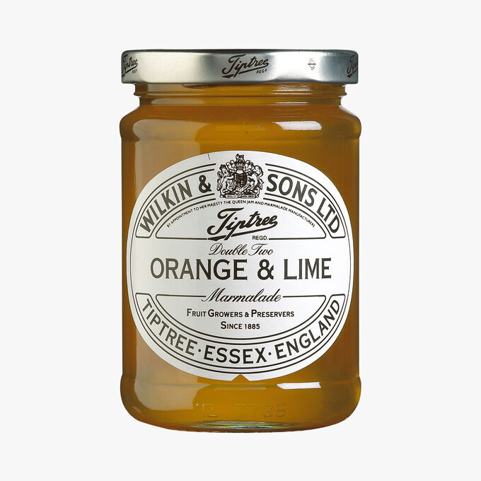 Orange and lime zest-free marmalade Wilkin & Sons