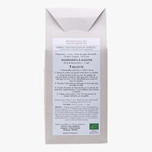 Organic mix for chocolate cookies with hazelnut chips Marlette