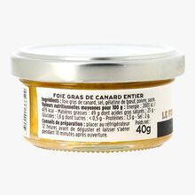 Le foie gras de canard entier, pot en verre 40g La Grande Épicerie de Paris