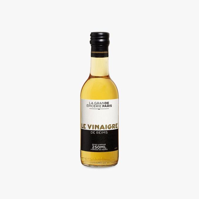 Vinaigre de vin blanc de la région Champagne-Ardenne, vieilli 1 an en fûts de chêne 7% d'acidité La Grande Épicerie de Paris