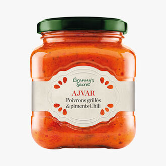 Ajvar, grilled peppers and chilies Granny's Secret
