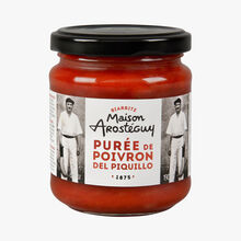 Piquillo pepper purée  Maison Arosteguy